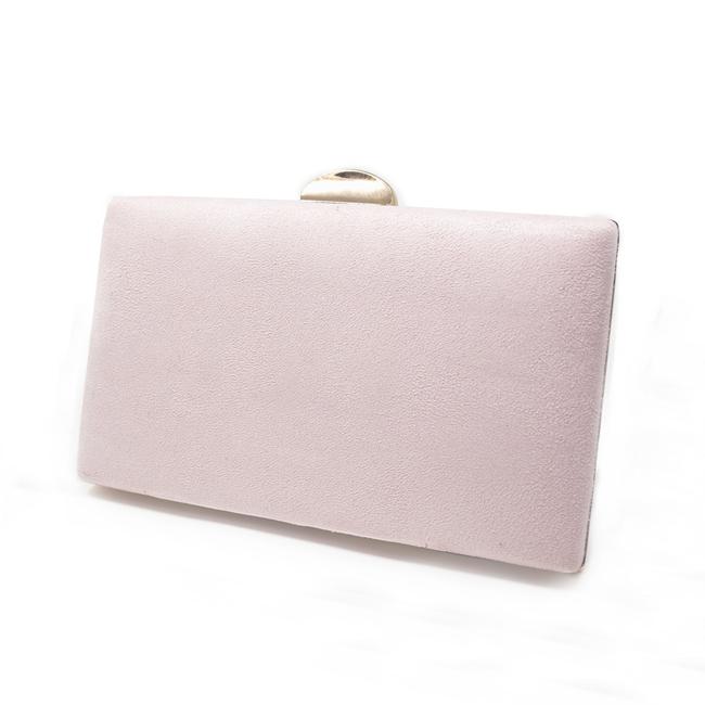 Bolso de fiesta rosa nude