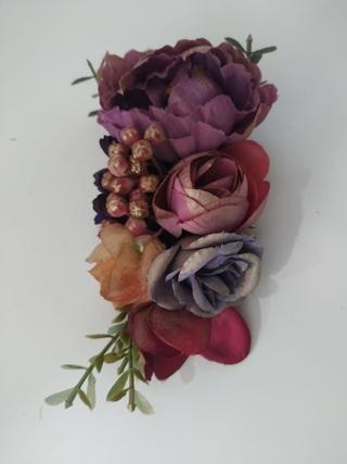 Peinecillo fiesta flores