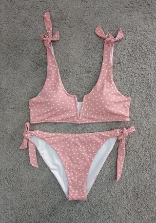 Bikini lunares 2 piezas.
