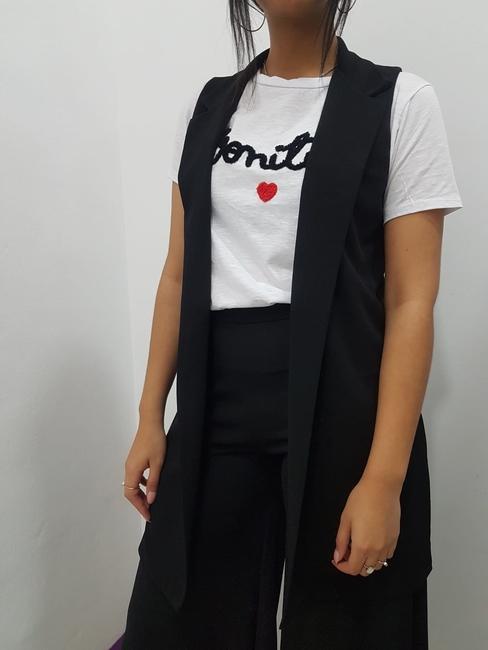 Chaqueta / Chaleco sin mangas negro