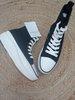 Zapatillas moda negra