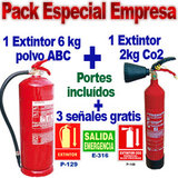 Pack anti-incendio especial empresa