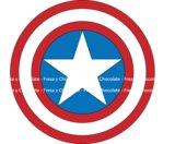 Papel Impreso Capitán América