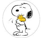 Papel Impreso Snoopy