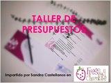 SEMINARIO DE PRESUPUESTOS PARA EVENTOS PROFESIONAL