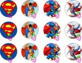 Impresion Galletas Superman