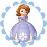 Impresion Tarta Princesa Sofia