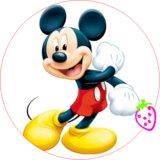 Papel Impreso Mickey