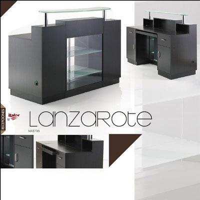 Recepción Lanzarote con expositor