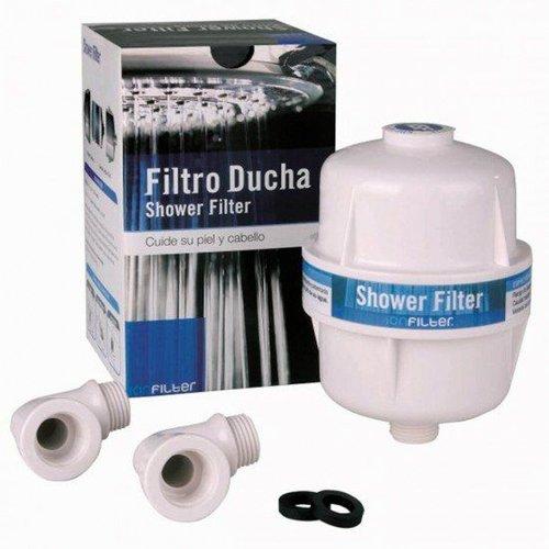Filtro para ducha  ( BLANCO  )  Elimina los quimicos del agua como el cloro