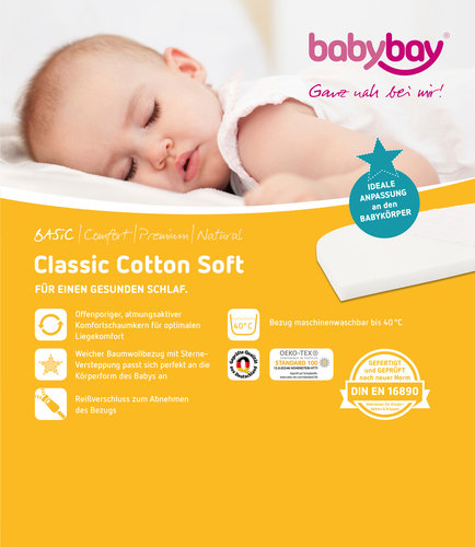 Colchón para Cuna Colecho Babybay Midi y Mini