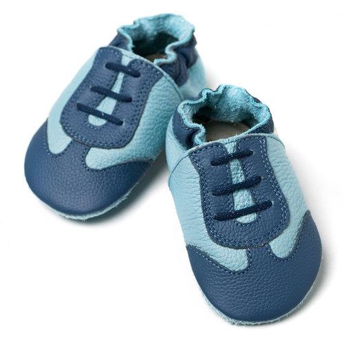 Zapato Blando Azul deportivo