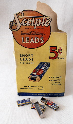 Minas Vintage Lead Scripto 1,16mm