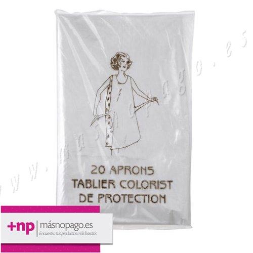 Delantal Plástico Desechable (20 Unidades)