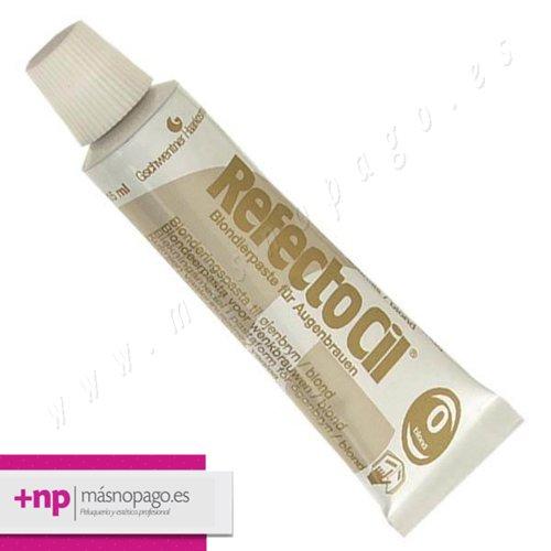 Refectocil Tinte Pestañas y cejas 15 ml. Nº 0 Rubio