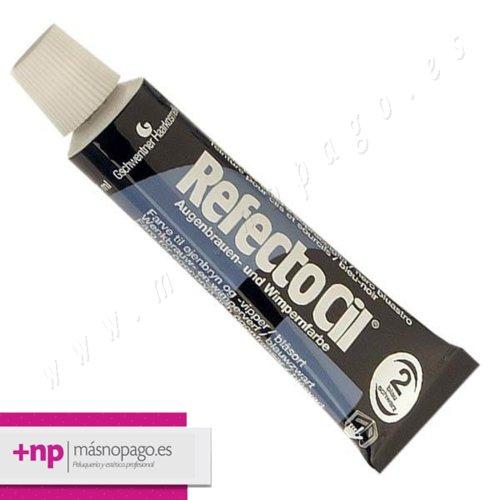 Refectocil Tinte Pestañas y cejas 15 ml. Nº 2 Negro Azul