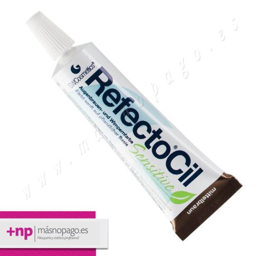 Refectocil Tinte Pestañas y cejas SENSITIVE Marron Medio
