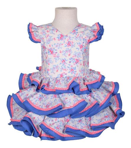 Traje de flamenca niña estampado