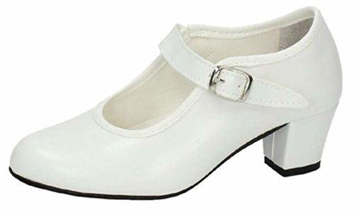 Zapatos de gitana para niña beige