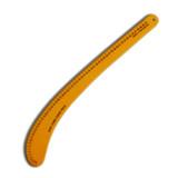 6261B  Regla acrilica color Curva 61 cm