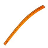 6360B  Regla acrilica color Curva 60 cm