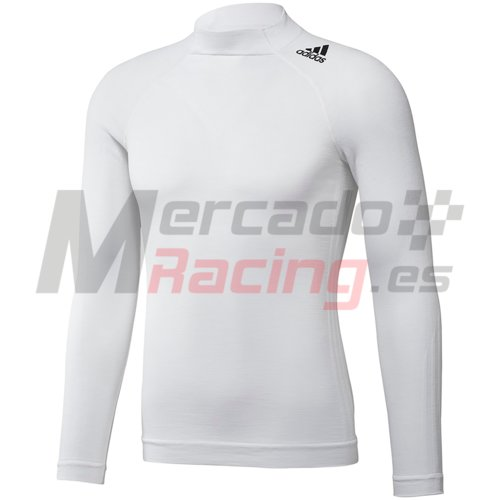 Adidas TechFit® LS Top White