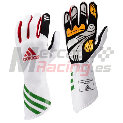 Adidas XLT Kart Glove White/Red