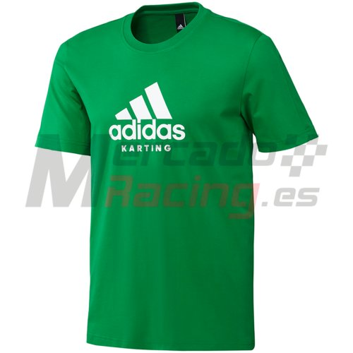 Adidas® Karting T-Shirt Green