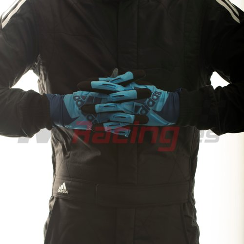 Adidas RSK Kart Glove Cyan/Navy