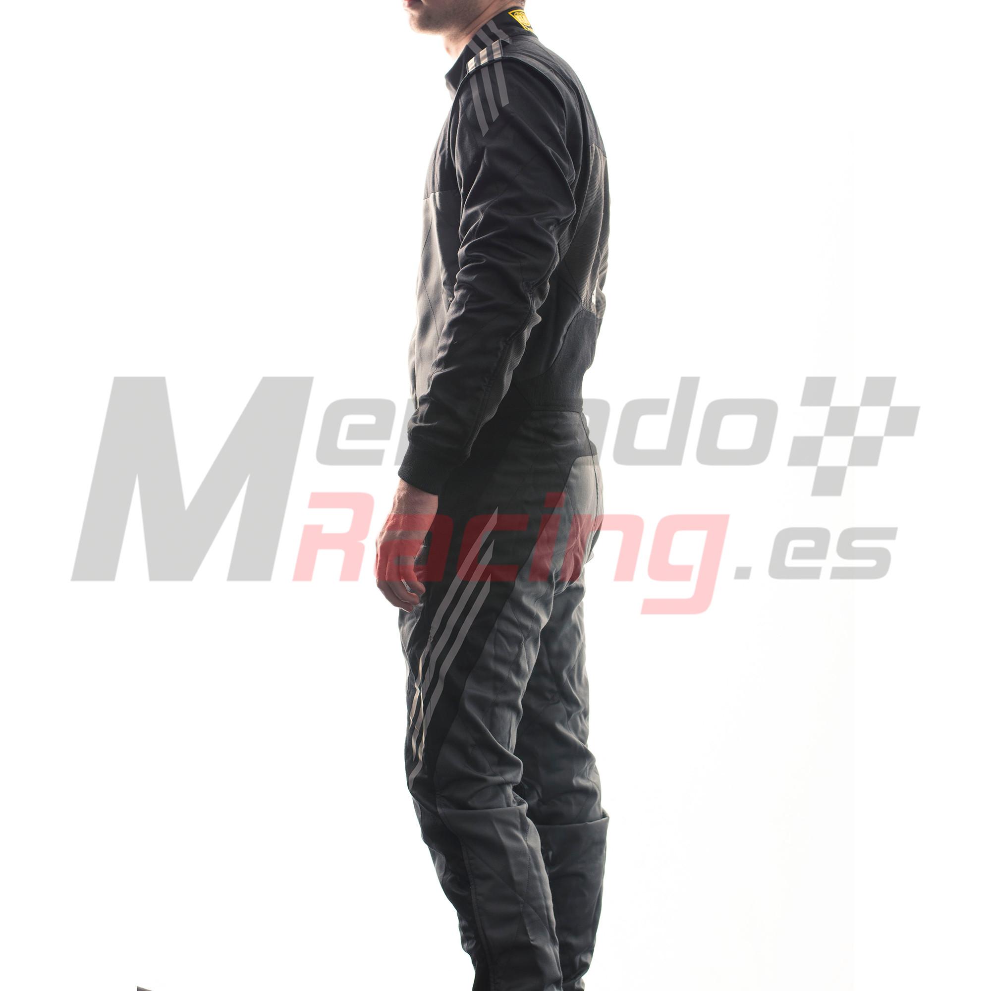 Egoísmo Se convierte en pasta  Adidas RSR ClimaCool® Race Suit Black/Graphite - Tienda de Mercadoracing