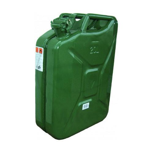 Bidón de combustible de acero 20L Homologado