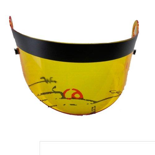 Repuesto de Visera Amarilla para casco BRAVE FF-Visor