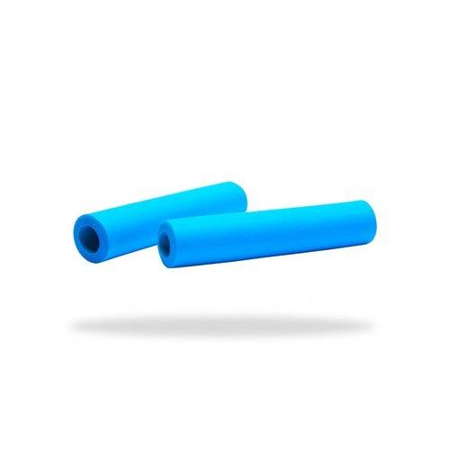 Supacaz: puños Siliconez SL y XL - color Azul Neón