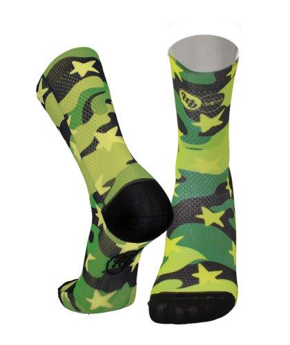 Calcetín MB Wear- Fun Camuflaje estrella verde