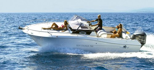 PACIFIC CRAFT 750 SUN CRUISER