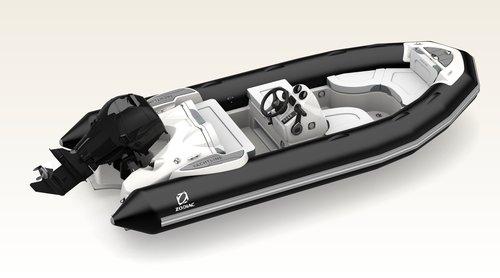 YACHTLINE 440 DL PVC NEGRO