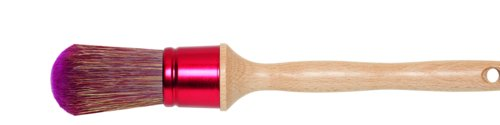 Brocha redonda morada