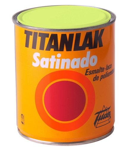 Titanlak Esmalte Laca Poliuretano - Satinado