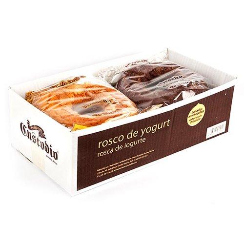 Caja combinada rosco de yogurt