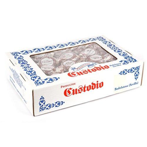 Caja de rosquillos de chocolate