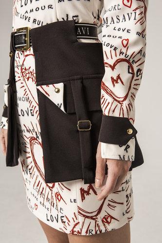 Vestido bolsillo sobre falda Masavi