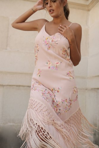 Vestido Fedra Rosa