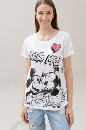 Camiseta Mickey Mouse strass by FRacomina