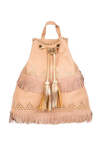 Bolso mochila piel Fez