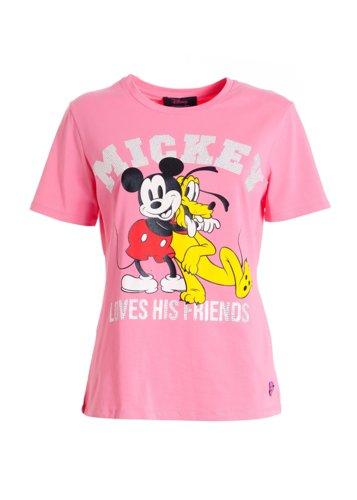 Camiseta Mickey y pluto Disney by Fracomina