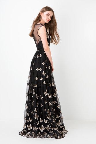Vestido Tul Mariposas