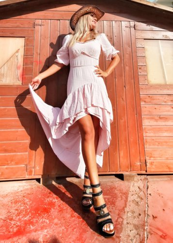 Vestido largo rosita Caroline
