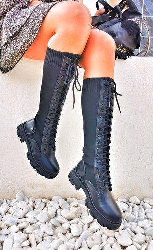 Bota calcetin Militar