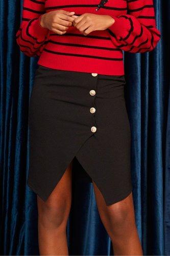 Falda negra Jenna