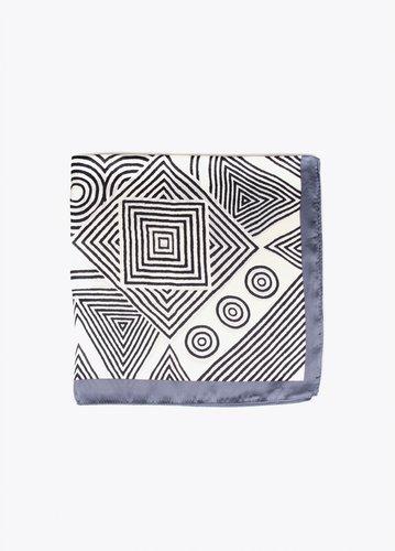 Pañuelo estampado geométrico Lola Casademunt